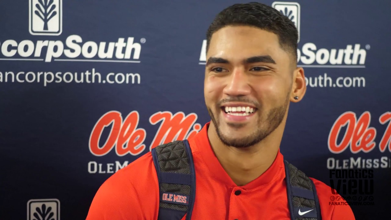 Jordan Ta'amu says Ole Miss Wide Receivers Are the Best in the Nation: