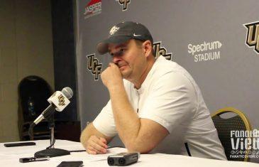 Josh Heupel speaks on UCF's Fan Support & Beating Florida Atlantic 56-36