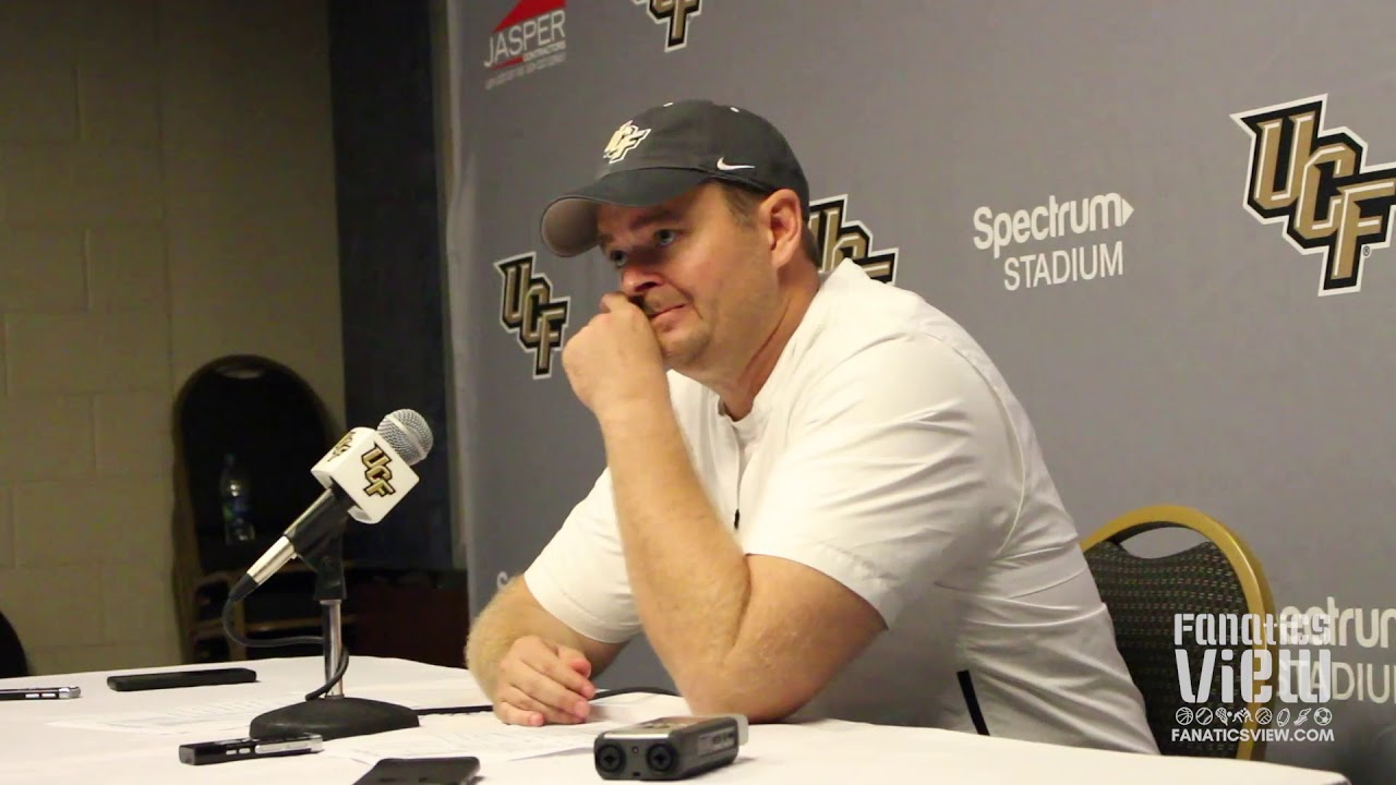 Josh Heupel speaks on UCF's Fan Support & Beating Florida Atlantic 56-36