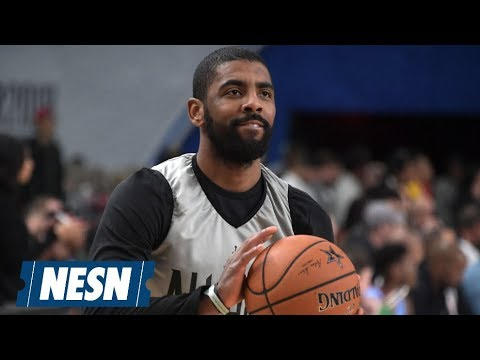 Kyrie Irving believes the Celtics are the team to beat in the NBA