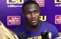 LSU linebacker Devin White talks Auburn & Beating Southeastern Louisiana