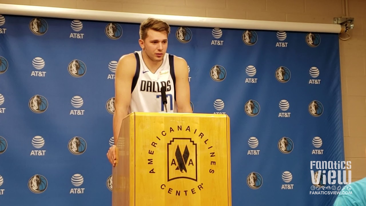 Luka Doncic previews Dallas Mavericks 2018-2019 Season (Full Press Conference)