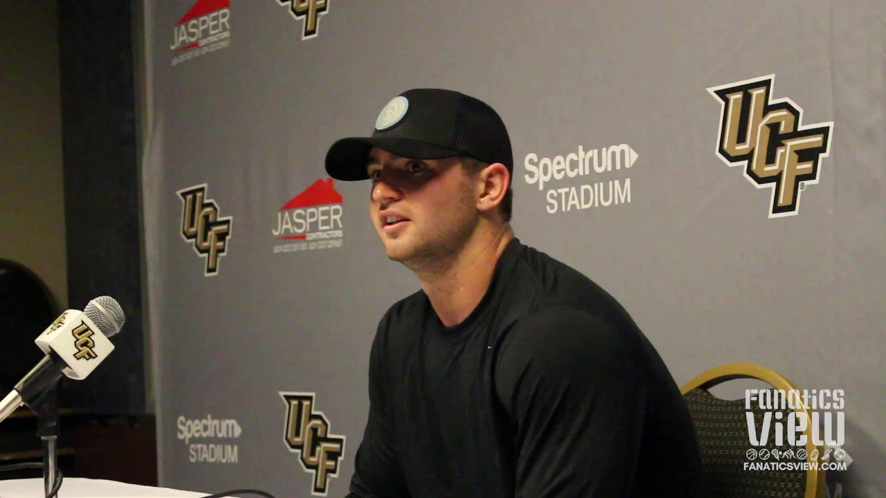 Michael Colubiale speaks on UCF Being the Best Football Team in Florida