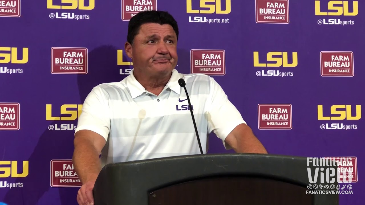 No.6 LSU defeats Louisiana Tech in roller coaster game, 38-21