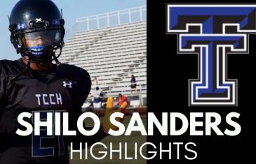 Shilo Sanders makes an INTERCEPTION, BIG HIT & CRAZY JUKE in the Same Game
