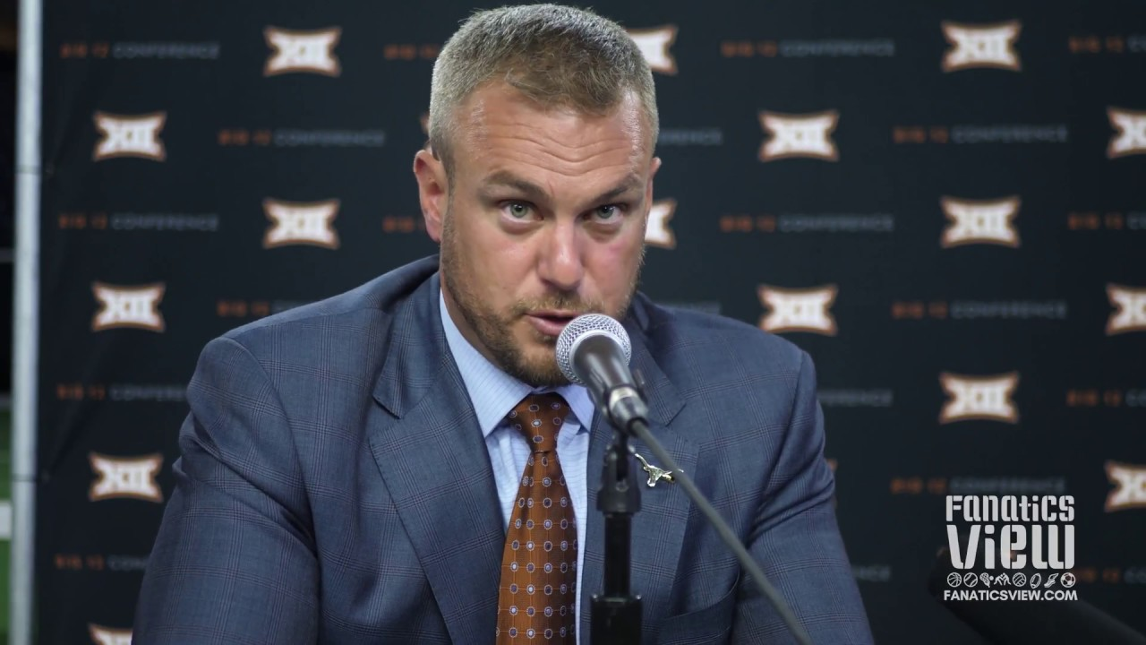 Tom Herman discusses When the Texas vs. Texas A&M Rivalry Will Take Place Again