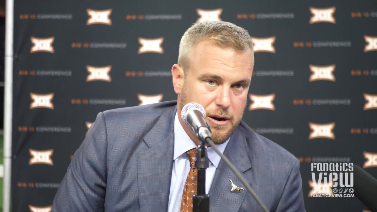 Tom Herman gives His Philosophy on Texas Recruits vs. National Recruits