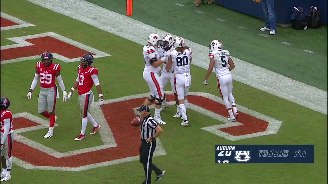 Auburn's Third Quarter Surge Leads to Victory Over Ole Miss