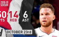 Blake Griffin hits game-winning shot and scores career high versus 76ers