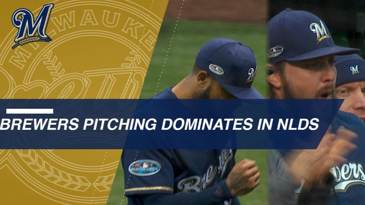 Brewers pitching shuts down Rockies in NLDS sweep