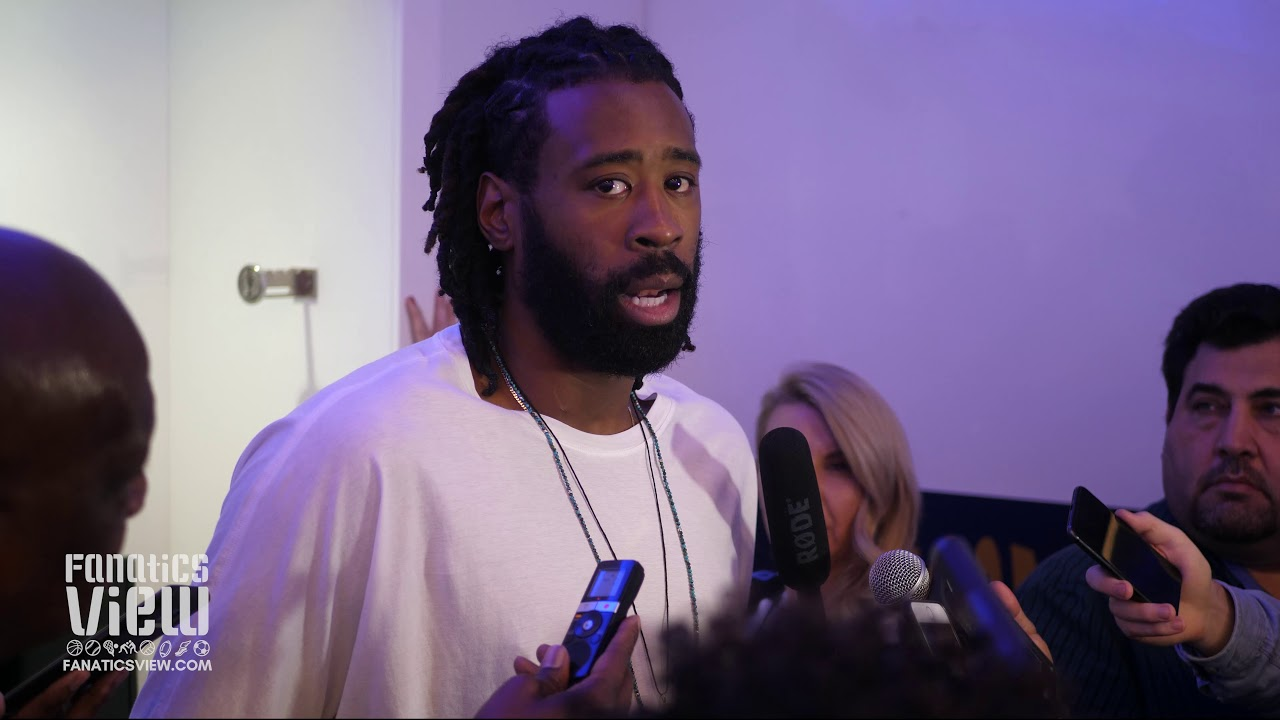 DeAndre Jordan on His Improved Free Throws, Mavs Road Trip, Playing Without Dirk and Harrison Barnes