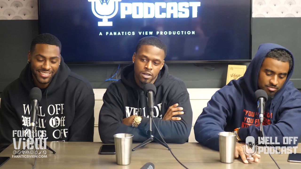 Deion Sanders Jr. & Well Off Podcast Episode 3 -