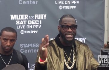 Deontay Wilder: 'A victory would be the same for both of us'