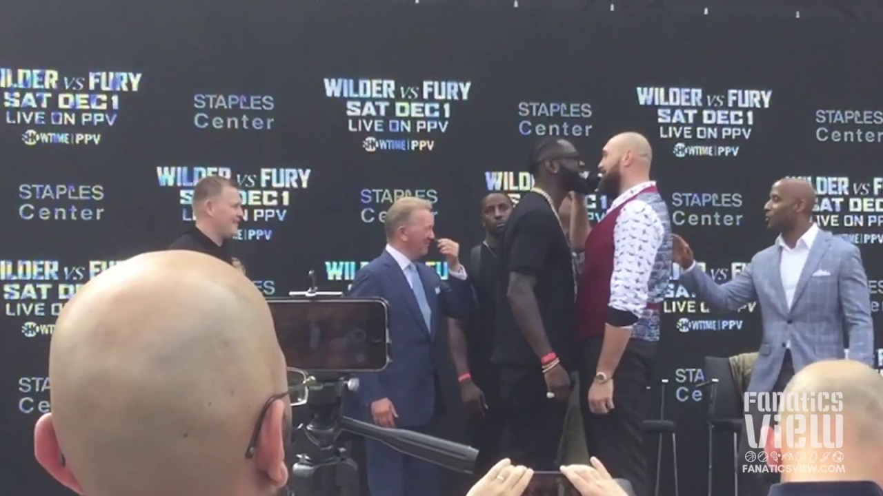 Deontay Wilder & Tyson Fury looking for big KO ahead of Dec 1. fight