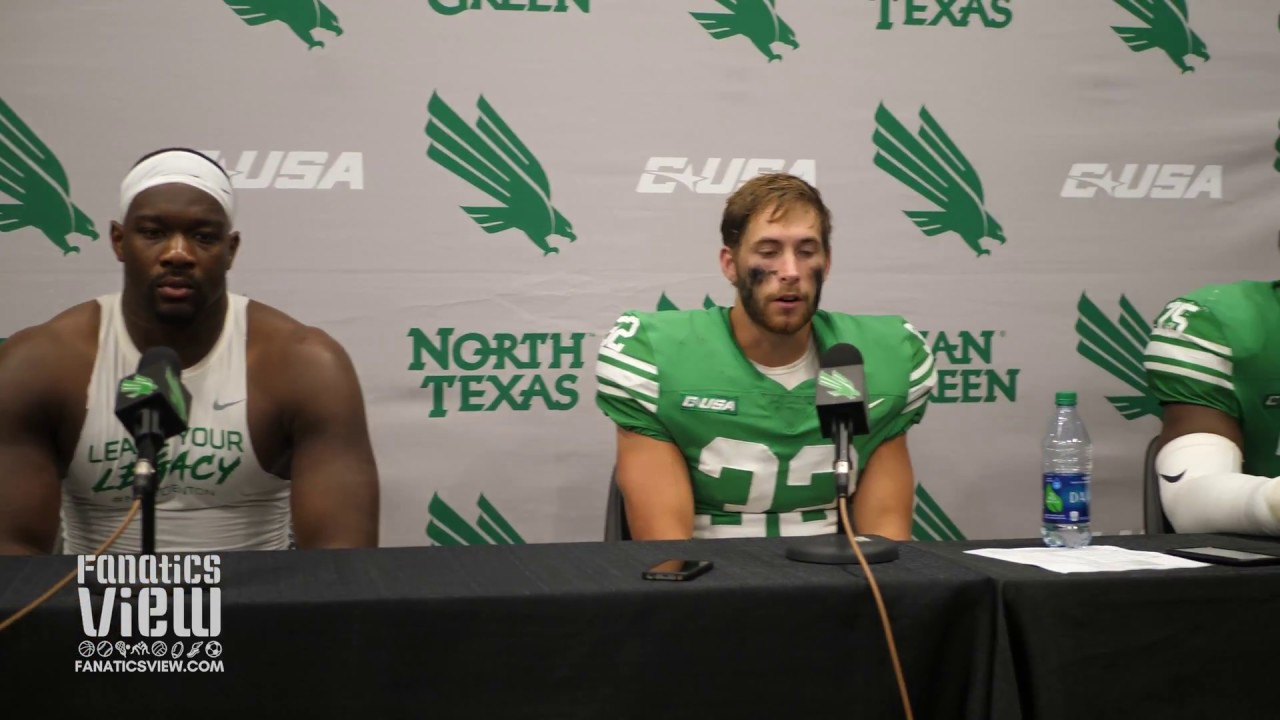 EJ Ejiya, Michael Lawrence & LaDarius Hamilton discuss North Texas' Loss against LA Tech
