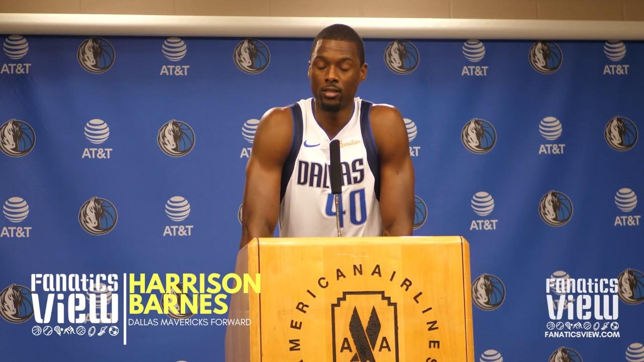 Harrison Barnes roasts Dirk Nowitzki over NBA Slam Dunk Competition