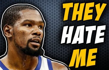 Kevin Durant says he won't win individual accolades due to pure hate