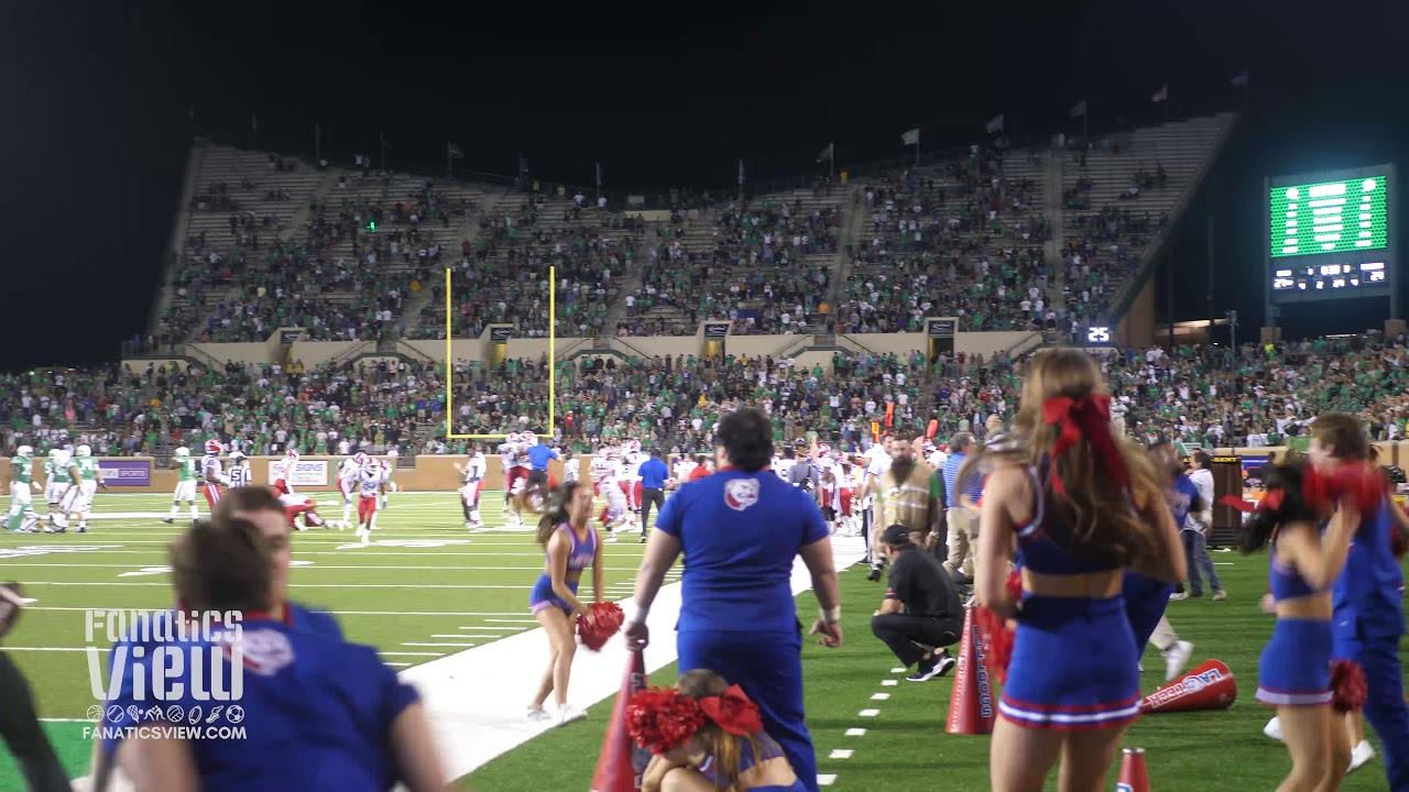 LA Tech beats North Texas with Last Second Blocked Field Goal Attempt