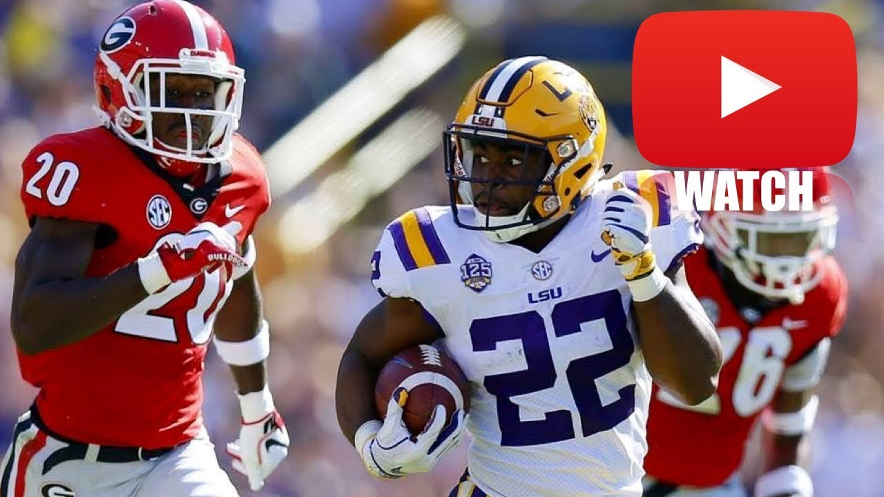 LSU vs. Georgia Highlights (FV's College Game of the Week)