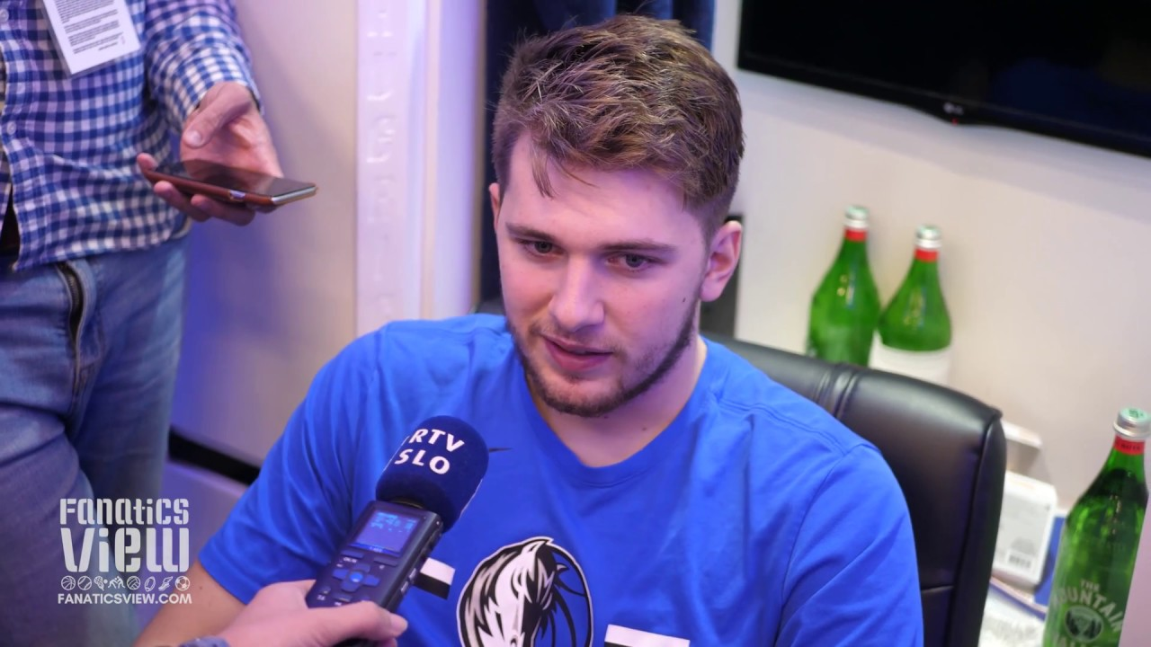 Luka Doncic Interview in Slovenian After 2nd NBA Game vs. Minnesota (Slovenian Interview)