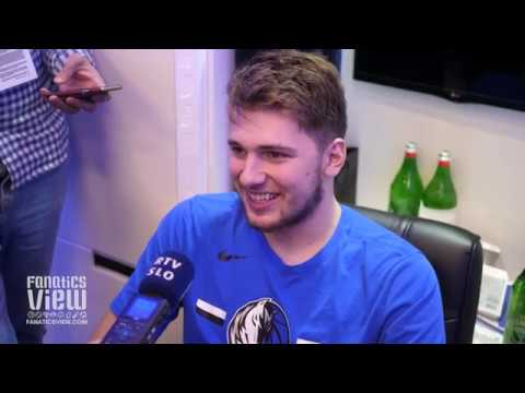 Luka Doncic on His 2nd NBA Game, DeAndre Jordan and Potentially Becoming