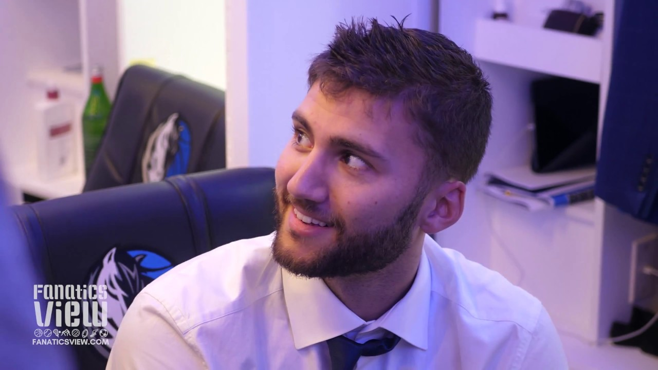 Maxi Kleber speaks on His Improved 3-Point Shot & the Mavs Win Over Chicago Bulls