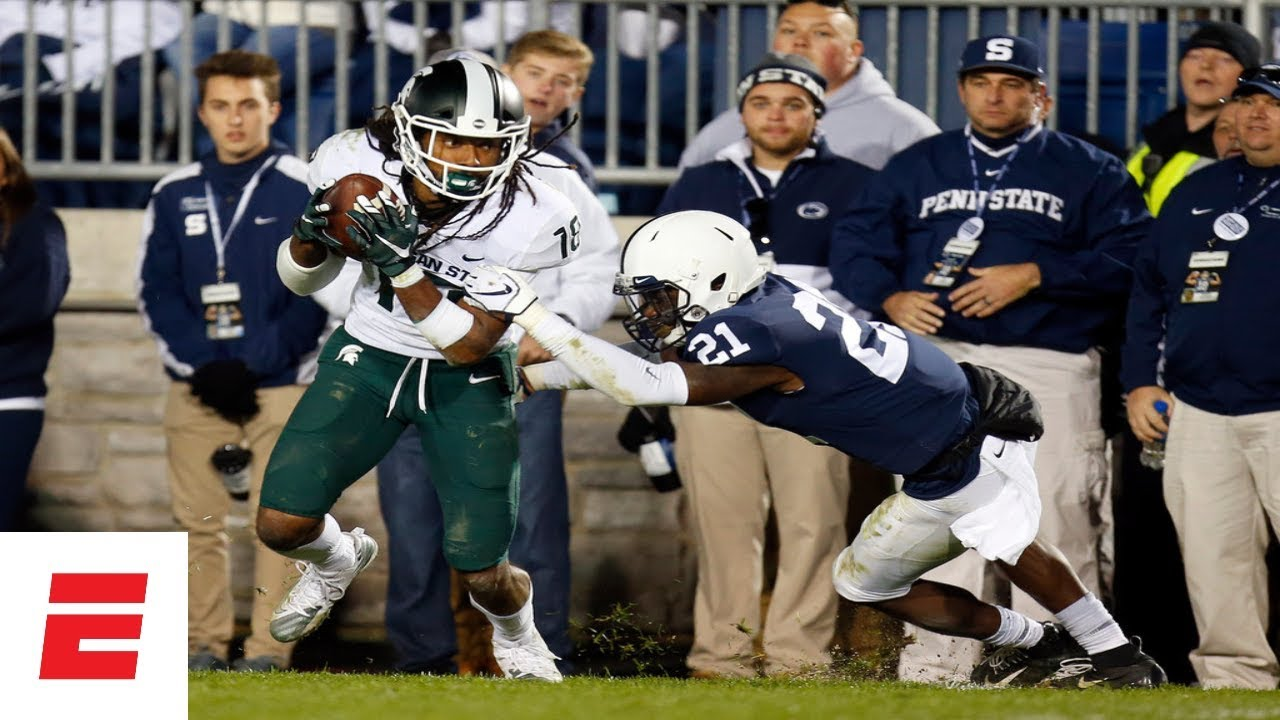 Michigan State Rallies Past Penn State for Big 10 Upse
