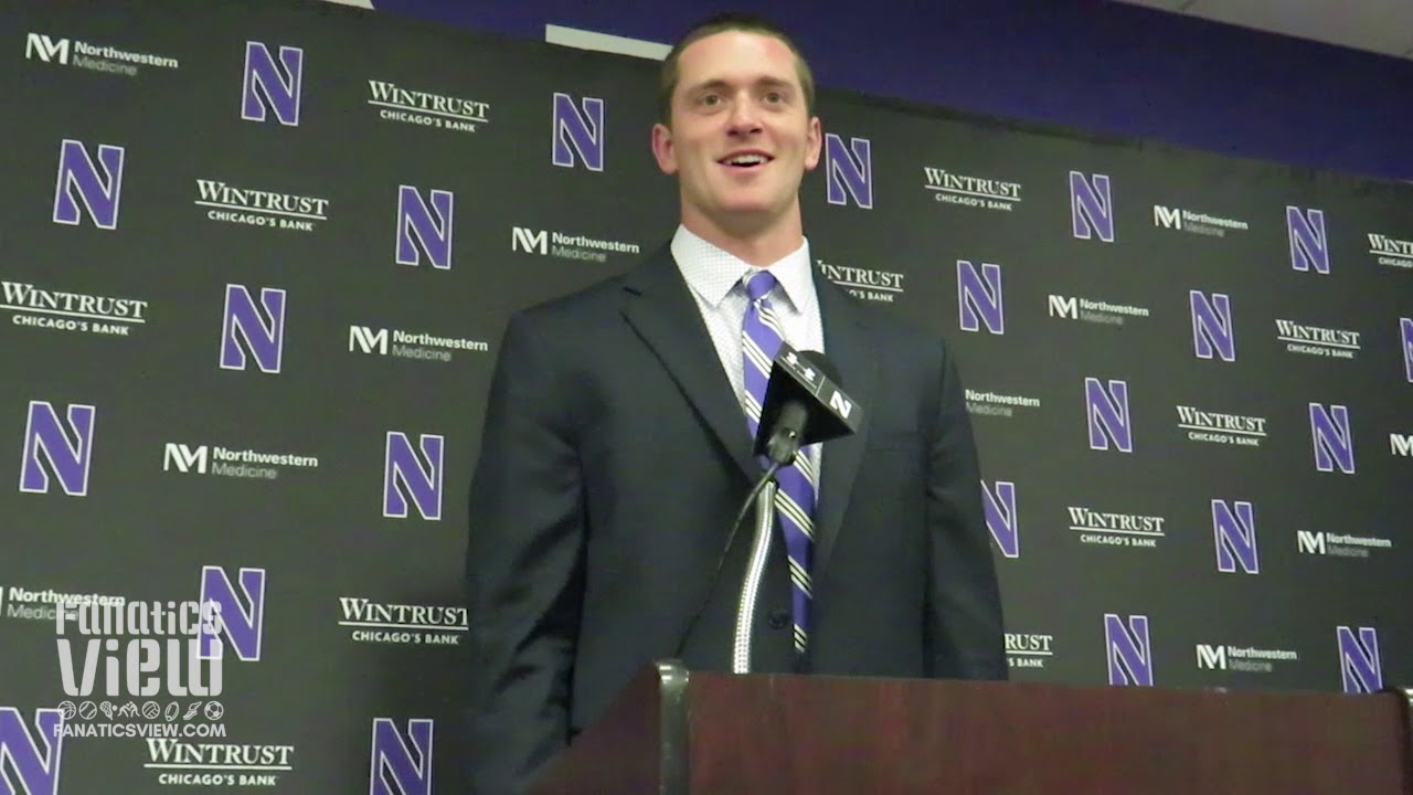 Northwestern QB Clayton Thorson on Wildcats Resurgence & Win Over Wisconsin