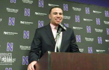 """Northwestern RB Isaiah Bowser on Notre Dame: """"It Might As Well Be Us To Beat Them"""""""