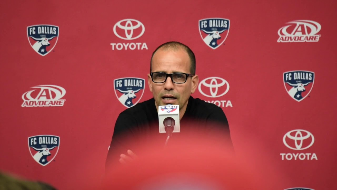 Oscar Pareja's postgame thoughts of FC Dallas loss against Sporting KC