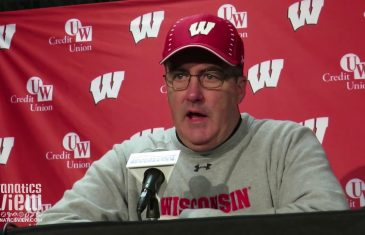 Paul Chyrst speaks on Wisconsin's 49-20 Win Over Illinois (Full Press Conference)
