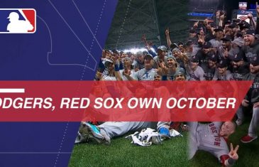 Red Sox & Dodgers Meet Up in Historic World Series