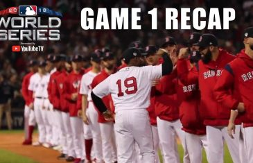 Red Sox Out Slug Dodgers in Game 1 of the World Series
