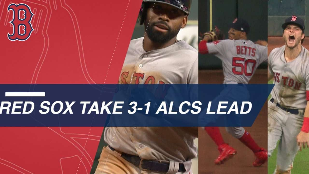 Red Sox Win Epic ALCS Game 4 Against the Defending Champs