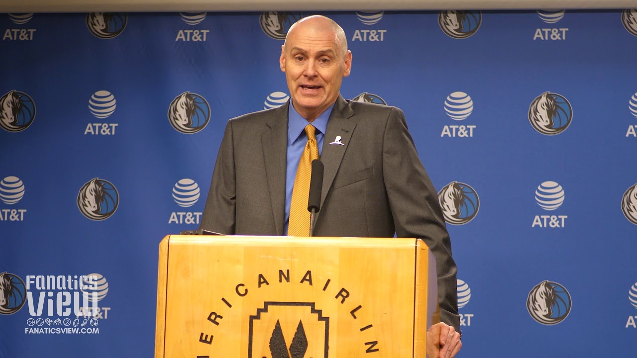 Rick Carlisle on Luka Doncic Injury, Harrison Barnes Return & DeAndre Jordan's Playmaking