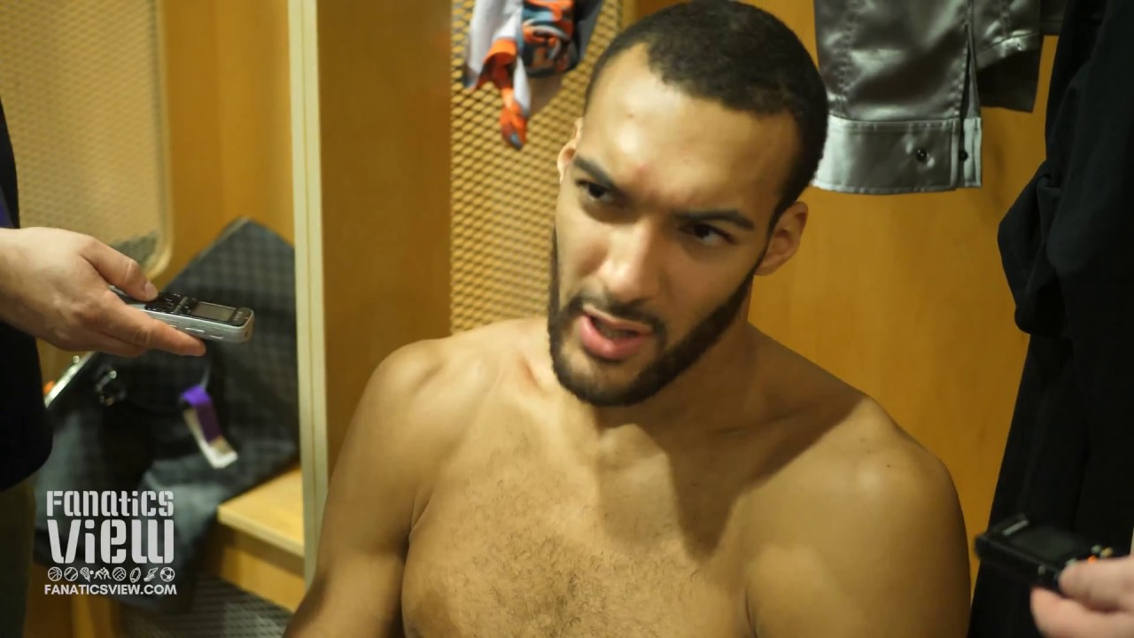 Rudy Gobert on Luka Doncic, Dropping 23 Points/16 REB on Dallas & Utah's Team Chemistry