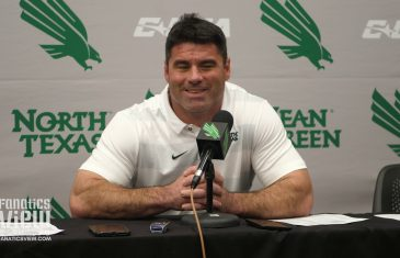 Seth Littrell on Changing Culture for Mean Green & North Texas 41-17 Win Over Rice