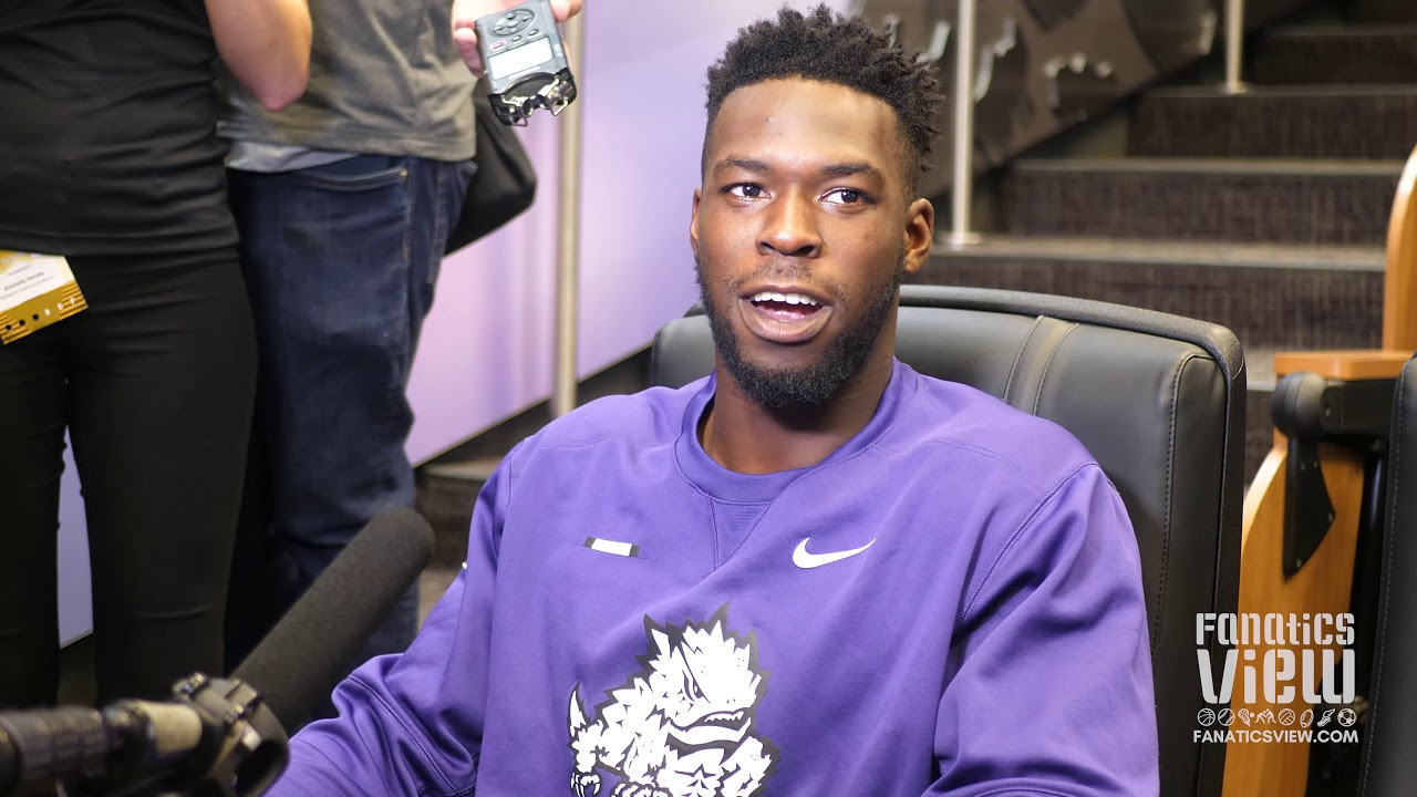 TCU's Ben Banogu speaks on Texas Tech, Shawn Robinson, Kyler Murray & Oklahoma