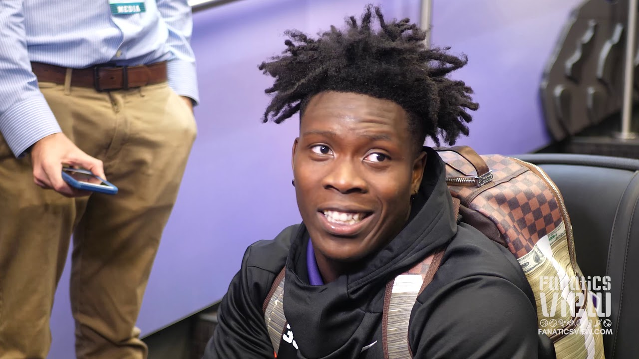 TCU's Sewo Olonilua speaks on Horned Frogs Loss to Texas Tech & Previews Oklahoma Matchup