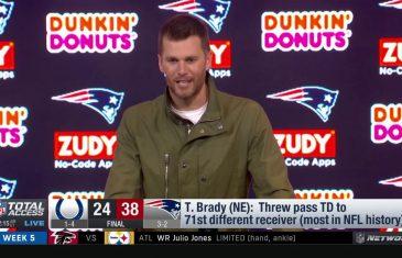 Tom Brady breaks two records in win against Colts