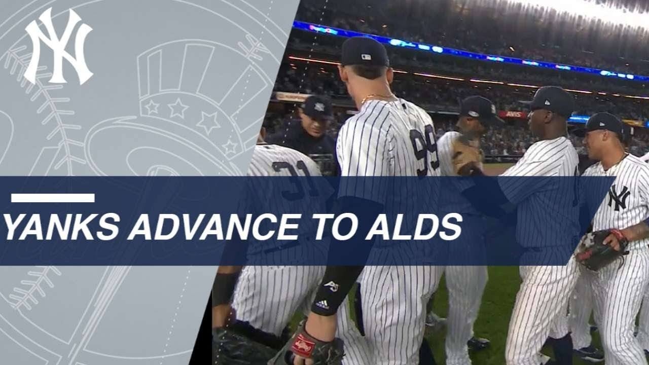 Yankees defeat A's 7-2 in Wild Card, Advance to ALDS