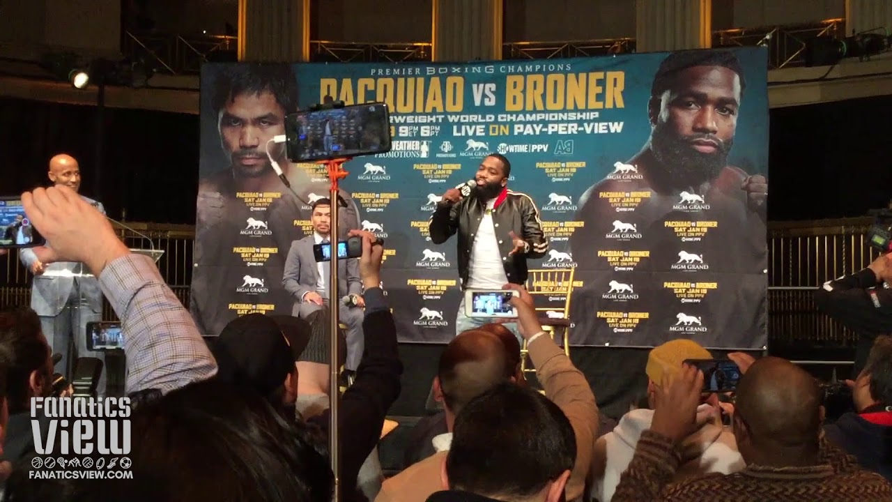 Adrien Broner looking to rejuvenate his career against Manny Pacquiao
