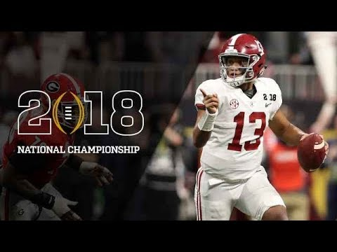 Alabama vs. Georgia SEC Championship Preview