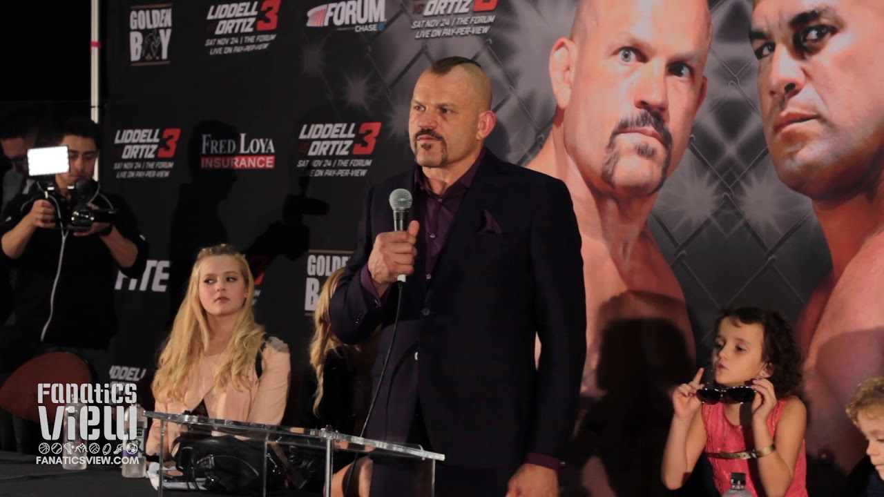 Chuck Liddell Discusses Getting Knocked Out By Tito Ortiz (Full Press Conference)