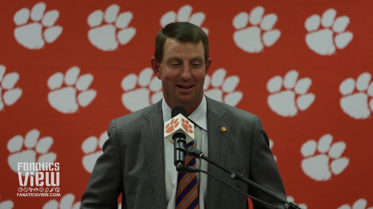 Dabo Swinney speaks on Will Swinney Scoring His First Career Touchdown (Dabo's Son)
