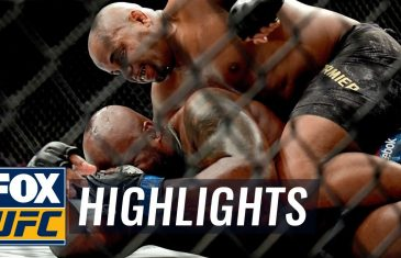 Daniel Cormier submits Derrick Lewis in Round 2 to Retain Heavyweight Title