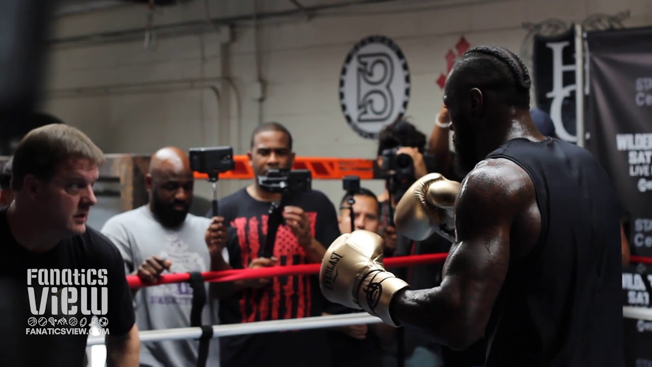 Deontay Wilder focused in preparation for upcoming fight against Tyson Fury