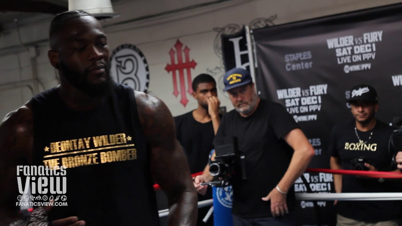 Deontay Wilder says Tyson Fury is the perfect opponent for selling his first PPV fight