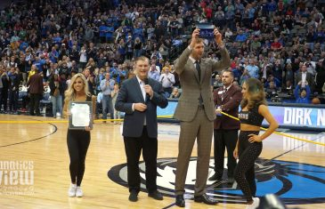 Dirk Nowitzki Receives Key To The City of Dallas from Mayor Mike Rawlings