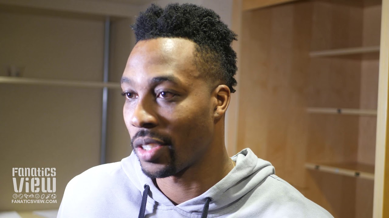 Dwight Howard on Luka Doncic, the Wizards' Struggles and a Leadership Role with Washington